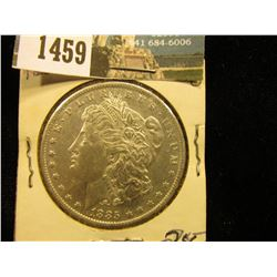 1885 O U.S. Morgan Silver Dollar, Brilliant Unc