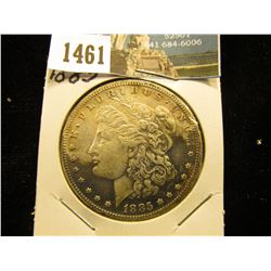 1885 P U.S. Morgan Silver Dollar, Toned VF