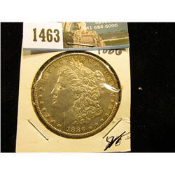 1886 P U.S. Morgan Silver Dollar, Brilliant Unc