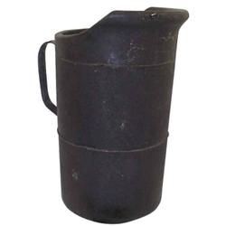 Fibre pitcher, marked  United Indurated Fiber Co., 11  H.