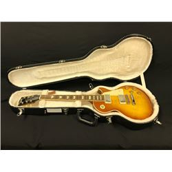 GIBSON LES PAUL TRADITIONAL ELECTRIC GUITAR, CARAMEL BURST, MADE IN USA 2013. SERIAL # 110631495