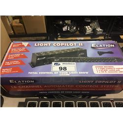 ELATION LIGHT COPILOT II 16 CHANNEL AUTOMATED CONTROL SYSTEM
