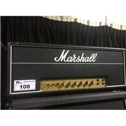 MARSHALL HAND WIRED JMP SUPER LEAD 100 WATT GUITAR HEAD, SERIAL NUMBER: SL/A, MODELED AFTER