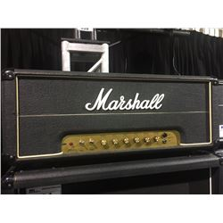 MARSHALL JMP 100 WATT 1980 GUITAR HEAD, SERIAL NUMBER: 03400M, WITH SWITCHER PEDAL