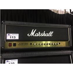 MARSHALL JCM 900 MODEL 4100 100 WATT HI GAIN DUAL REVERB GUITAR HEAD, WITH SWITCHER PEDAL