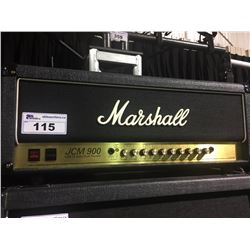 MARSHALL JCM 900 MODEL 4500 50 WATT HI GAIN DUAL REVERB GUITAR HEAD, SERIAL NUMBER: 733725