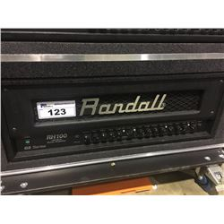 RANDALL RH100 100 WATT SOLID STATE 2 CHANNEL GUITAR AMP, WITH SWITCHER PEDAL