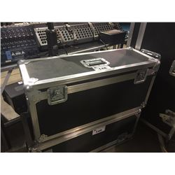 CUSTOM SINGLE GUITAR HEAD ROAD CASE, 15'' X 32'' X 12'', FOR MARSHALL OR SIMILAR SIZE HEADS