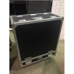 CUSTOM ROAD CASE SLIDE OFF ROAD CASE, 41'' X 32'' X 17'', USED FOR MARSHALL SLANT GUITAR CABINETS
