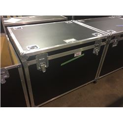 CUSTOM BUILT ROAD CASE, 30'' H X 42.5'' W X 32'' D, INSIDE, USED FOR YAMAHA BASS DRUM, CYMBALS,
