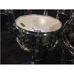YAMAHA 14'' X 6'' STEEL SNARE DRUM AND STAND