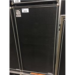 AMPEG CLASSIC SVT-215E 400 WATT BASS CAB, MADE IN USA, SERIAL NUMBER: 215I25EM80031