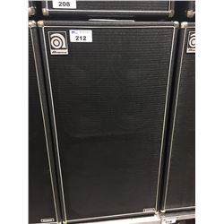 AMPEG CLASSIC SVT8910E 800 WATT BASS CABINET, MADE IN USA, SERIAL NUMBER: BQWDN50105