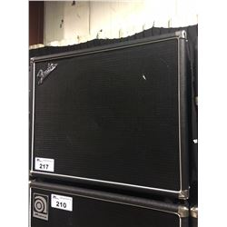 FENDER BASSMAN 1X15 NEO 700 WATT BASS CAB, SERIAL NUMBER: M1639107, ORIGINAL GRILLE CLOTH