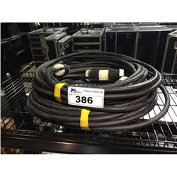 PAIR OF 50' 12 GAUGE TWIST LOCK EXTENSION CORDS