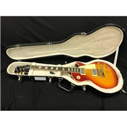 GIBSON LES PAUL TRADITIONAL ELECTRIC GUITAR, CHERRY  BURST, MADE IN USA