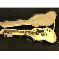 GIBSON SG STANDARD ELECTRIC GUITAR, OLYMPIC WHITE, MADE IN USA