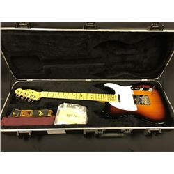 FENDER TELECASTER ELECTRIC GUITAR, 3 TONE BURST, MADE IN USA