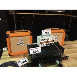 ORANGE MICRO TERROR 20 WATT GUITAR HEAD AND 2 ORANGE PPC108 CABS