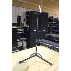 YORKVILLE GS204B ADJUSTABLE GUITAR STAND