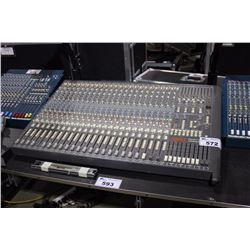 SOUNDTRACS TOPAZ PROJECT STUDIO 24 CHANNEL MIXING CONSOLE, WITH TOPAZ AUTOMATION UNIT, RIBBON, NEEDS