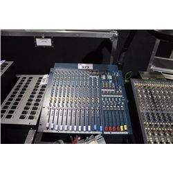 ALLEN AND HEATH 14 CHANNEL MIX WIZARD WZ14:4:2+ DUAL FUNCTION 4 GROUP RACK MOUNTABLE MIXER