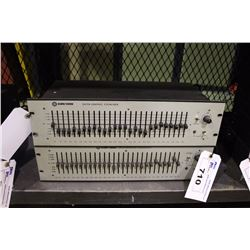 KLARK-TEKNIK DN27A SINGLE CHANNEL 27 BAND GRAPHICAL EQUALIZER