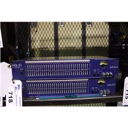 ART HQ-31 SINGLE CHANNEL 31 BAND EQUALIZER