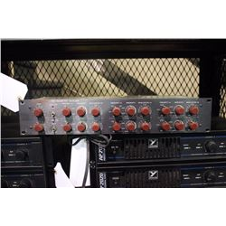 FURMAN SOUND PQ6 TWO CHANNEL PARAMETRIC EQUALIZER