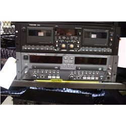 TASCAM CD-RW402 CD RECORDER/DUPLICATOR