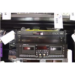JVC 5 DISC CD PLAYER WITH RACK EARS