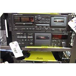 TASCAM 130 SINGLE TAPE DECK