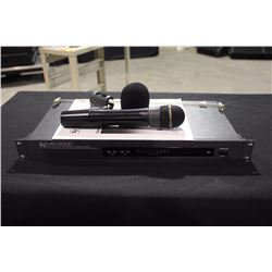 ELECTRO-VOICE MS-2000 DUAL RECEIVER DIVERSITY WIRELESS MICROPHONE SYSTEM, FREQUENCY BAND 169-186 MHZ