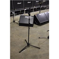 BLACK K&M LONG POLE, SHORT EXTENDING BOOM MIC STAND