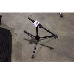 BLACK K&M SHORT POLE, SHORT EXTENDING BOOM MIC STAND
