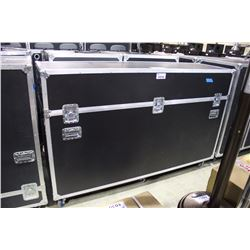 CUSTOM ROAD CASE WITH LIFT OFF TOP, 52.5'' H X 82'' W X 24'' D OUTSIDE, USED TO STORE LOT 1009