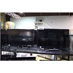LOT OF 2 TOSHIBA FLATSCREEN TV/COMPUTER MONITORS