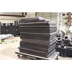 APPROX. 40 SOUND DEADENING/ABSORPTION PANELS, VARIOUS SIZES