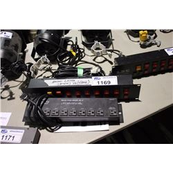 AMERICAN DJ MODEL SC-8 RELAY PACK AND LSC 8 CHANNEL SWITCH