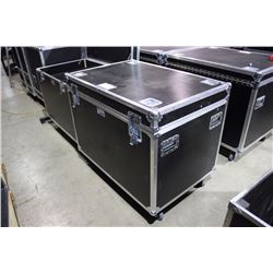 "ROAD CASE, 3/4"" CONSTRUCTION, 29'' H X 43'' W X 28.5'' D, INSIDE"