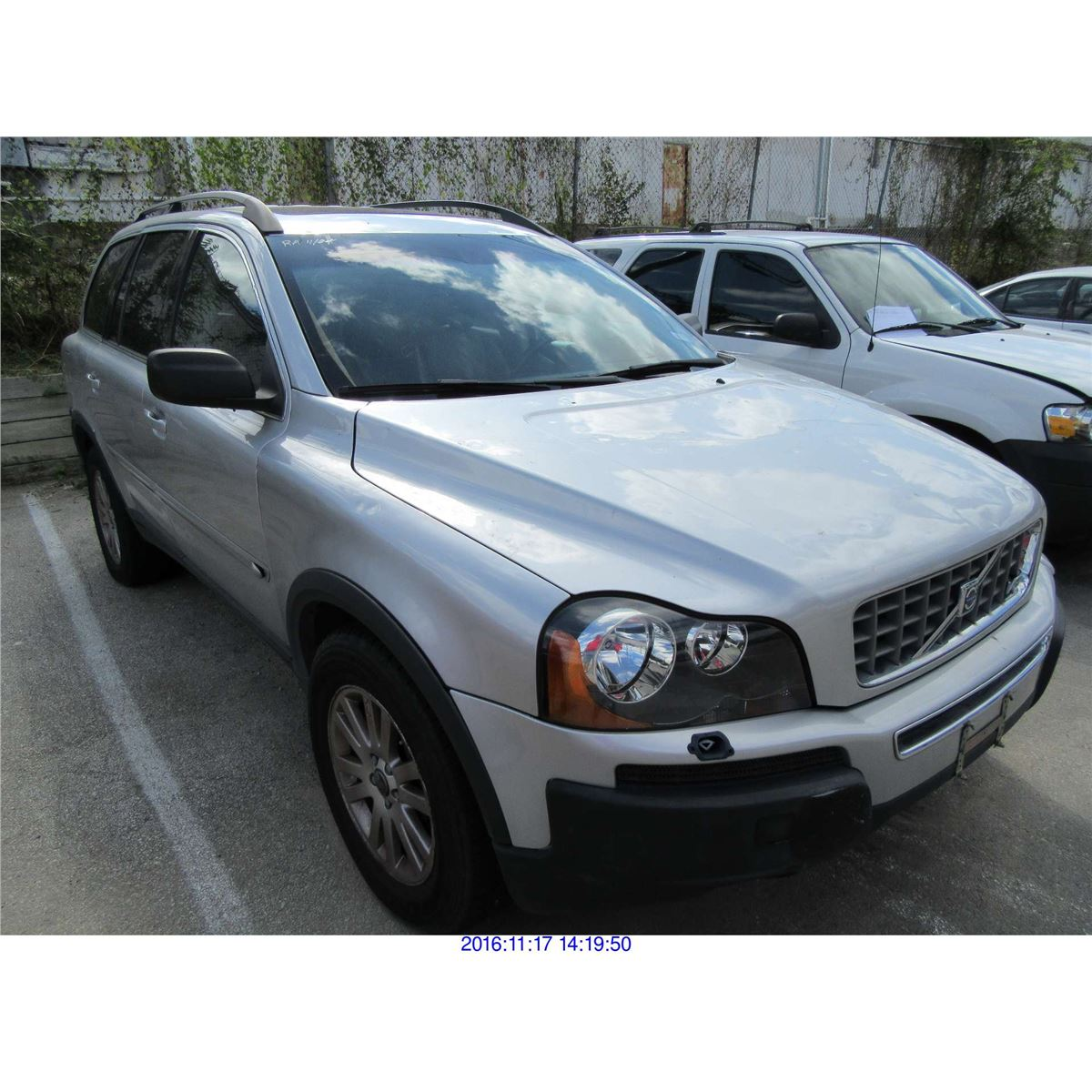 2005 volvo xc90 rebuilt salvage. Black Bedroom Furniture Sets. Home Design Ideas