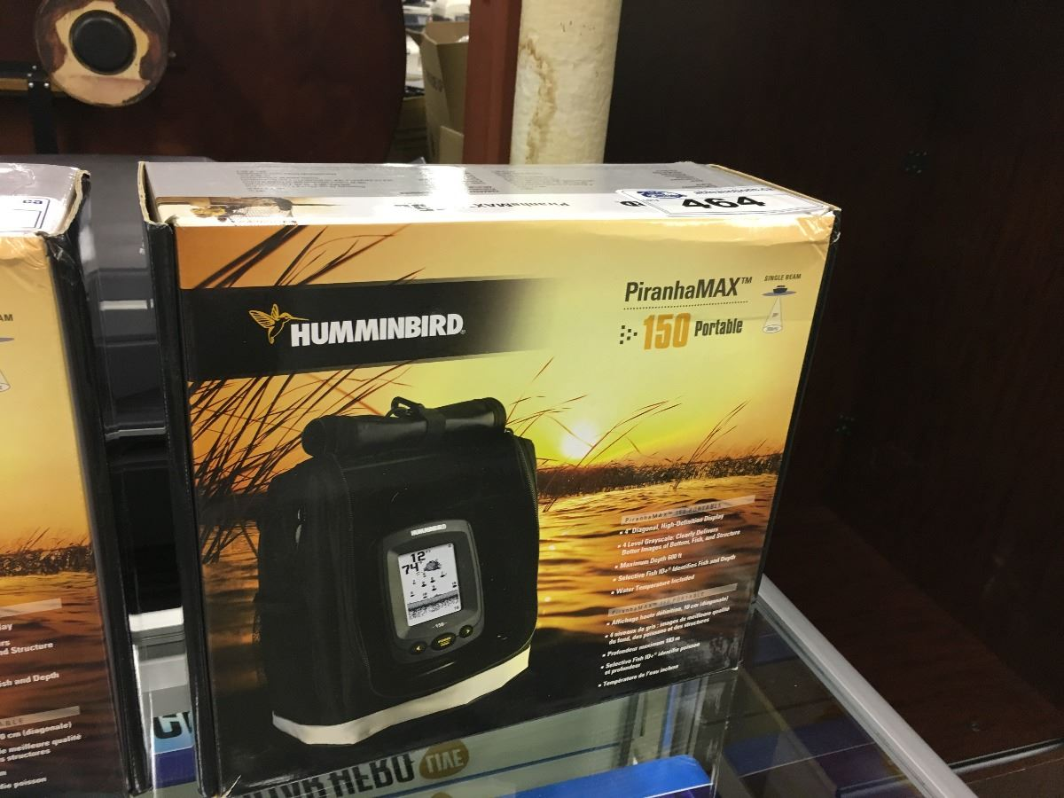 humminbird piranhamax 150 portable fish finder - able auctions, Fish Finder