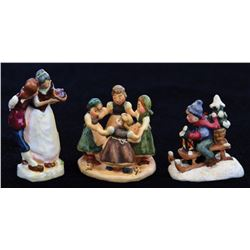 Pre-Goebel (13) piece figurine set