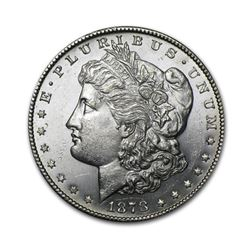 1878 $1 Morgan Silver Dollar AU