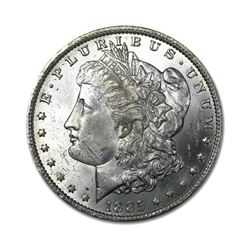 1885 $1 Morgan Silver Dollar Uncirculated