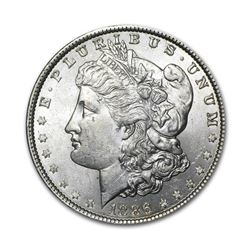 1886 $1 Morgan Silver Dollar Uncirculated
