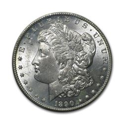 1890 $1 Morgan Silver Dollar Uncirculated