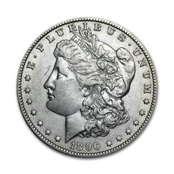 1896 $1 Morgan Silver Dollar Uncirculated
