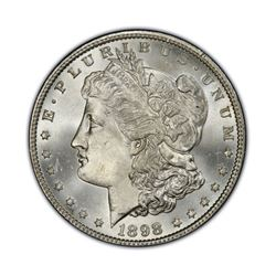 1898 $1 Morgan Silver Dollar Uncirculated
