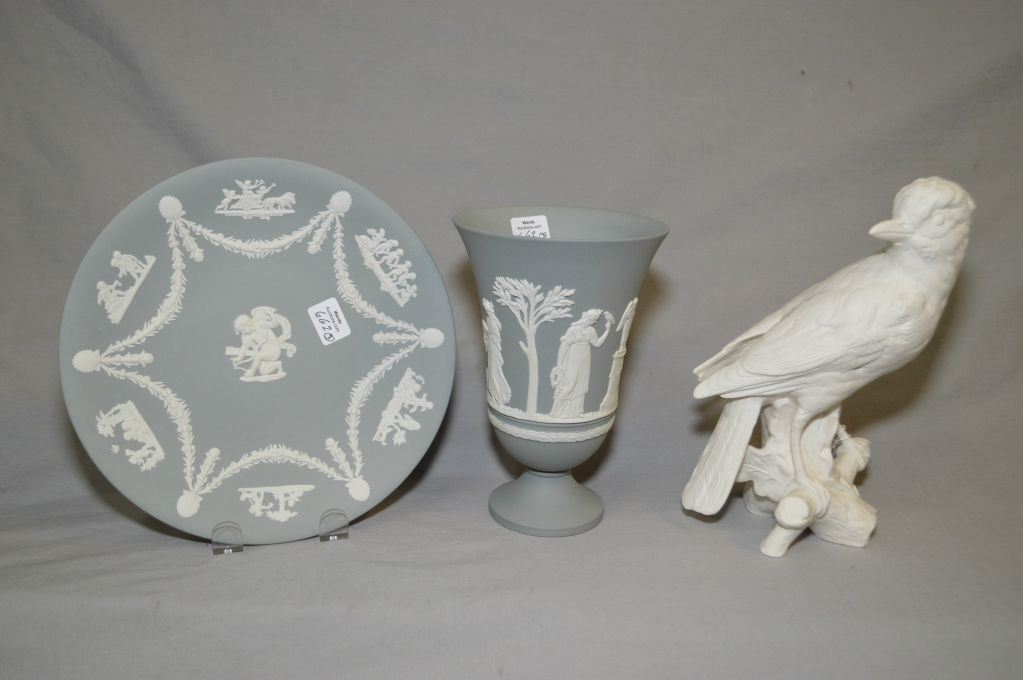 Two Pieces Of Wedgwood Jasperware Including Grey Neo Classical 7